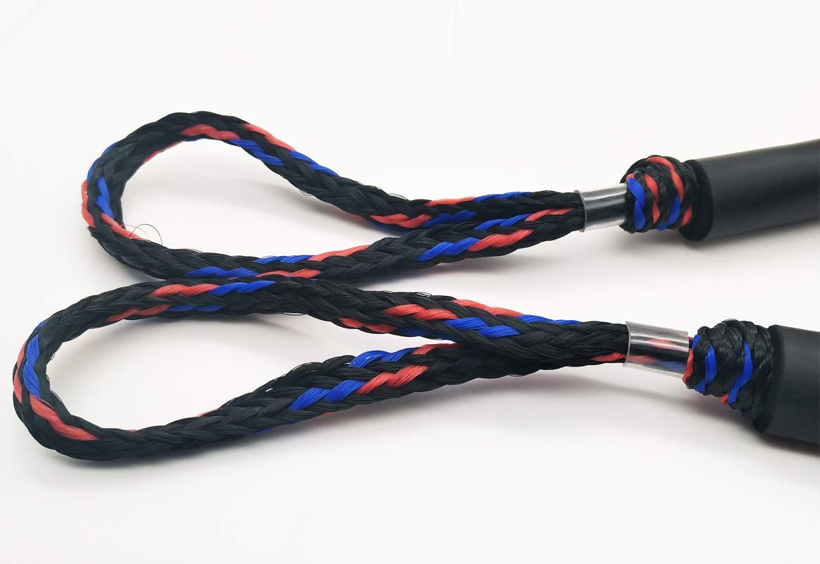 4ft Stretches to 5 1//2 ft Abeauty 2 Pack Bungee Dock Lines Mooring Rope Bungee Cords for Boat Jet Ski Kayak Pontoon PWC Boat Accessories
