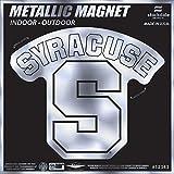 Syracuse Orange SD 12'' MAGNET METALLIC Silver Style Vinyl Auto Home Heavy Duty University of