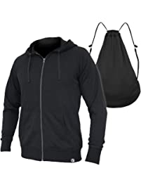 Quikflip 2-in-1 Reversible Backpack Hoodie (As Seen on Shark Tank) Unisex Full-Zip Hero Hoodie