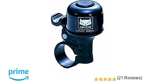 Cateye PB-800 - Timbre para bicicleta negro negro Talla:talla única: Amazon.es: Deportes y aire libre