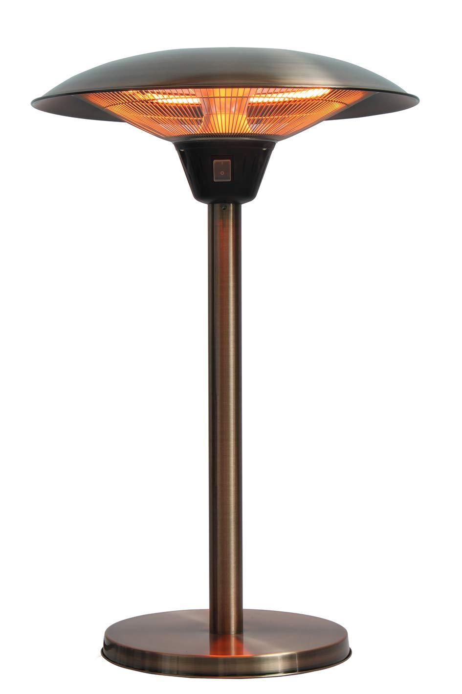 Fire Sense 62217 Cimarron Brushed Coppertone Patio Heater by Fire Sense