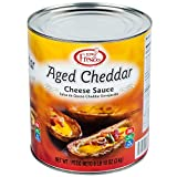 Real Fresh Aged Cheddar Nacho Cheese Sauce #10 Can By TableTop King