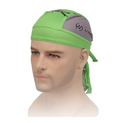 Image Unavailable. Image not available for. Color  Powerfulline Outdoor Cycling  Cap Pirate Hat Headband Sweatproof MTB Sports Bandana Headscarf dc4456acd