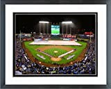 "Kauffman Stadium Kansas City Royals MLB 2015 World Series Photo (Size: 12.5"" x 15.5"") Framed"