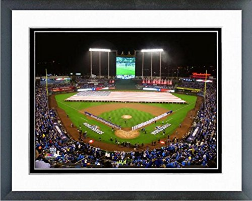 Kauffman Stadium Kansas City Royals MLB 2015 World Series Photo (Size: 12.5