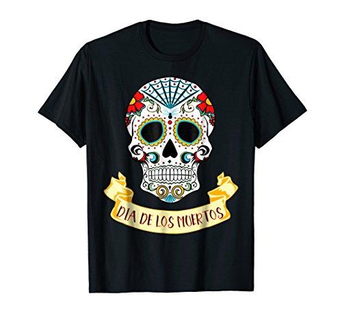Dia De Los Muertos Sugar Skull Halloween Costume