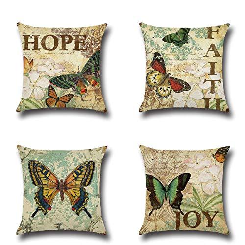 XIECCX Throw Pillow Covers Decorative Pillowcases Set