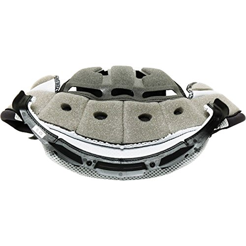 Shoei VFX-W Center Pad L9 Off-Road Motorcycle Helmet Accessories - Grey/Large