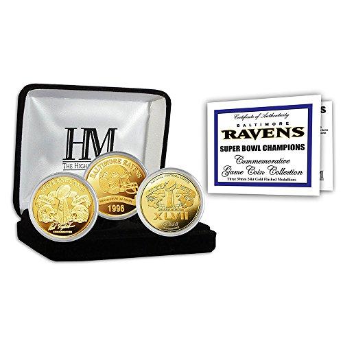 Baltimore Ravens Coin Set - 5