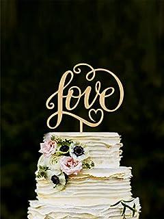 Amazoncom Kate Aspen Love Cake Topper Home Kitchen