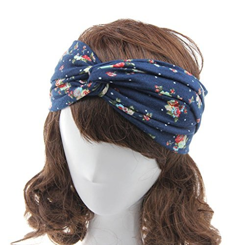 Ever-Fairy-Women-Elastic-Turban-Head-Wrap-Headband-Twisted-Hair-Band