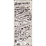 art history masterpieces timeline poster 5 ft tall x 2 ft wide hand drawn