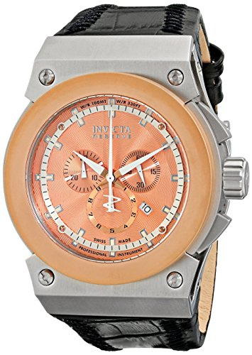 Invicta-Mens-10949-Akula-Reserve-Chronograph-Rose-Textured-Dial-Watch