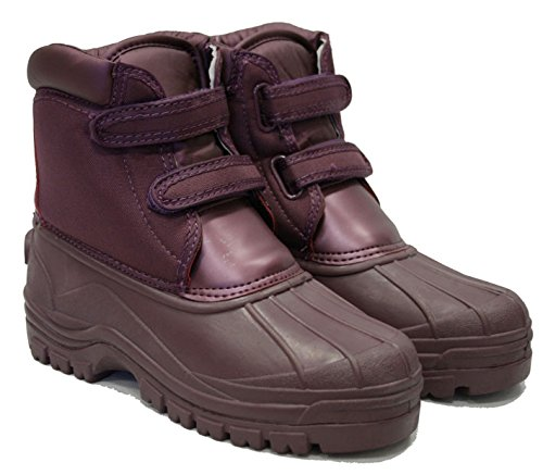 Town and Country - Botas de agua (talla 11 UK), color azul Aubergine Size 7