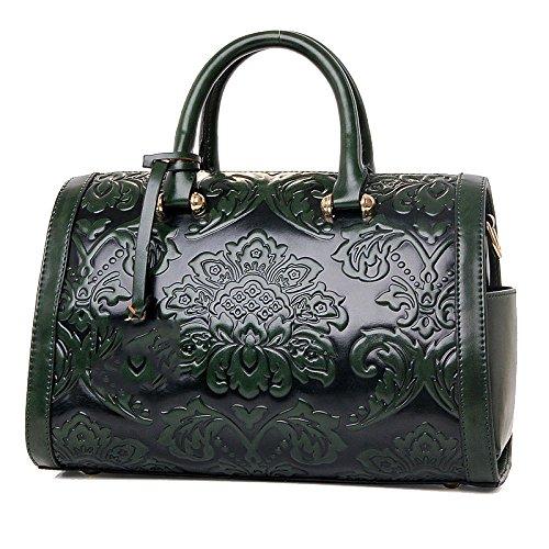 Almohada Darkgreen Bolsas Grandes Women's De Mensajero Flores Mujer Hombro Bag Bolsos Zll BzE7qxPw7