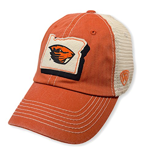 (Top of the World NCAA Oregon State Beavers Men's Elite Fan Shop Off Road Mesh Back Hat,)