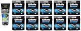 Gillette Body Non Foaming Shave Gel for Men, 5.9 Fl Oz + Sensor Refill Blades 10 Ct. (10 Pack) + FREE Schick Slim Twin ST for Dry Skin