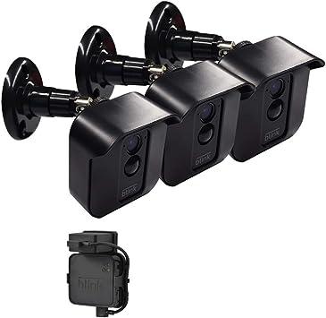 1pcs//3pcs Black//White Wall Mount Bracket Kit for Blink XT Camera Outdoor//Indoor