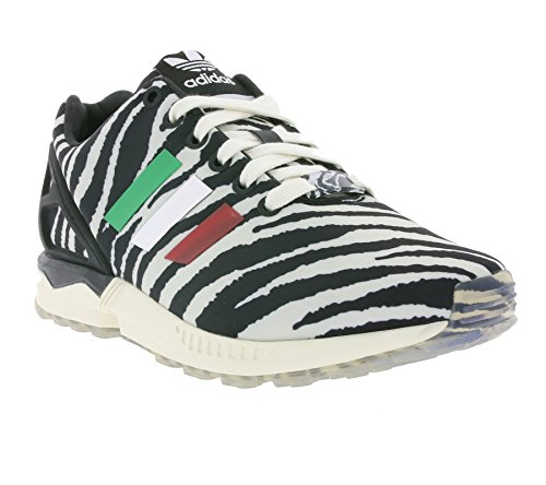 adidas Originals ZX FLUX Scarpe Sneakers Moda Nero Bianco per Unisex Torsion System