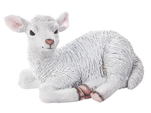Fox Valley Traders Resin Lamb Statue ()