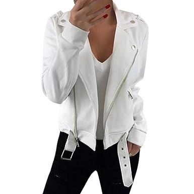New Women/'s Ladies Long Sleeve Casual Blazer Suit Zipper Jacket Coat Outwear