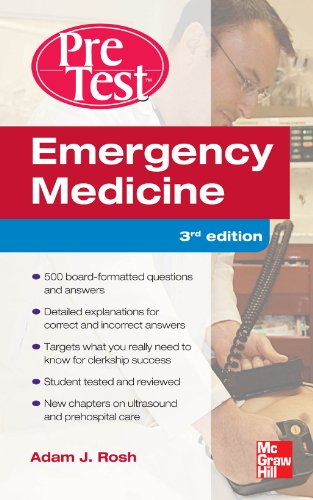 Emergency Medicine PreTest Self-Assessment and Review, Third Edition Pdf