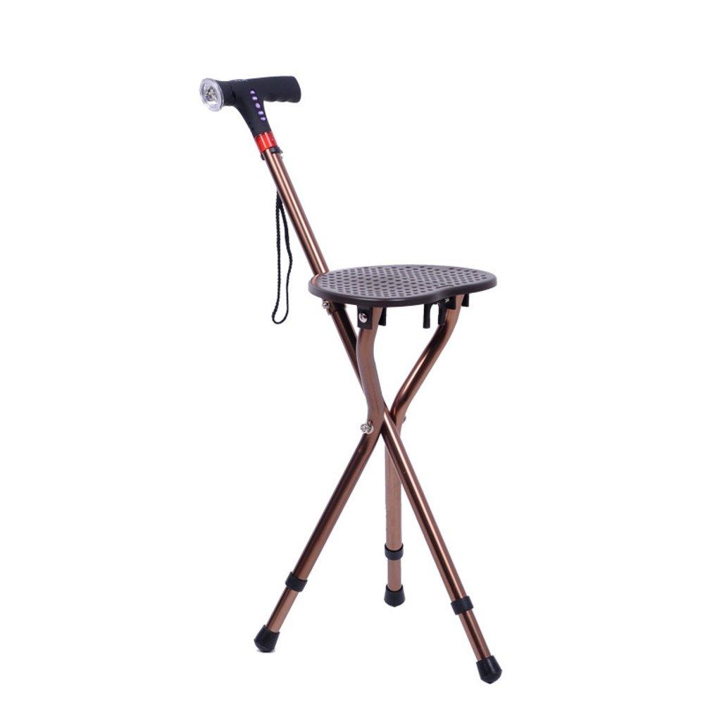 正式的 多機能 B07M8JPVS7 Led ライト付きシートを折りたたみ, 多機能 脚スマート杖-C 高齢者のための席を持つポータブル軽量 3 脚スマート杖-C B07M8JPVS7, 丹波山村:53d2d634 --- a0267596.xsph.ru