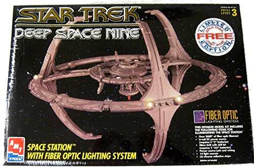 Phaser Model (Star Trek Deep Space Nine Space Station Model Kit with Fiber Optic Lighting System)