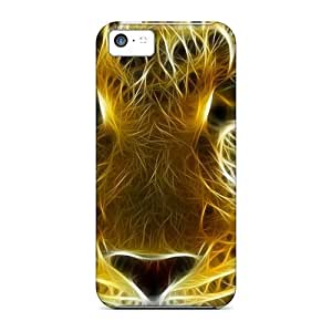 5c Scratch-proof Protection Case Cover For Iphone/ Hot D Graphics D Leopard Phone Case by supermalls