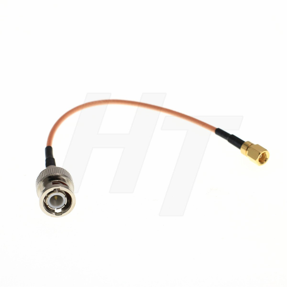 UHF PL259 Male to UHF Bulkhead Female 50Ω RG316 Coax Low Loss RF Cable