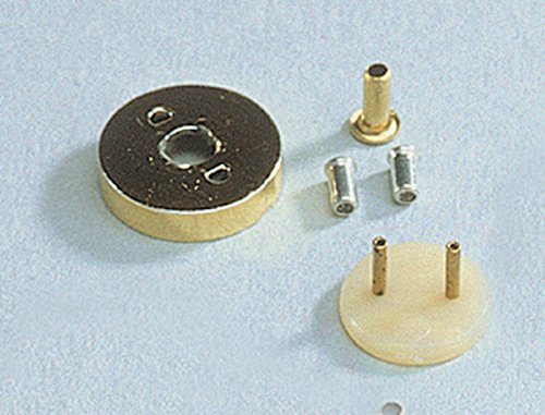 Dollhouse Miniature Sconce Adapter, Hex, Dual Wire -