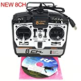 RC Flight Simulator 8CH w/Disk Realflight G7 Phoenix 5.0 XTR Remote Control Support Helicopter Fixed-Wing Glider Drone...