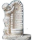 Fontane da Giardino in Cemento Fontana Bimbo - H cm 92