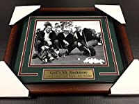 Golf's Mt Rushmore Arnold Palmer Jack Nicklaus Gary Player 8x10 #1 Photo Framed