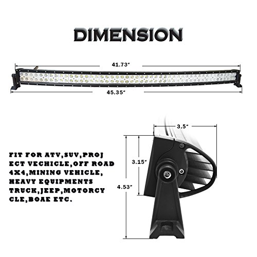 51qdCmNyEEL easynew 42 inch 240w curved led light bar for 4wd suv ute offroad  at alyssarenee.co
