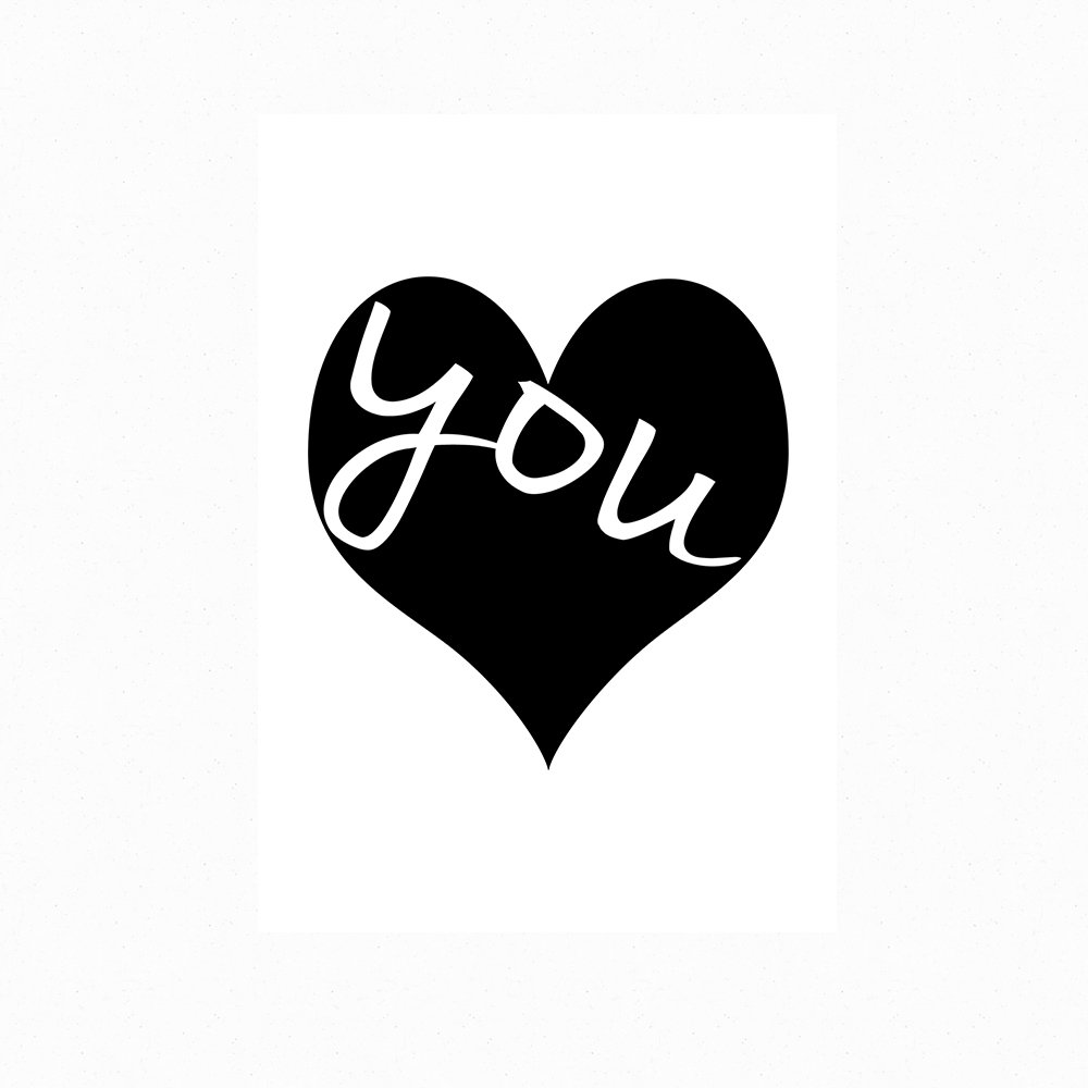 Motivational Inspirational Positive Thought Quote Love You Poster Print Wall 196