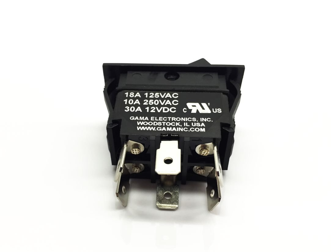 Gama Electronics 30 Amp Dpdt On Off Rocker Switch Toggle Switches 20 Screw Terminal Spst Onoff Automotive