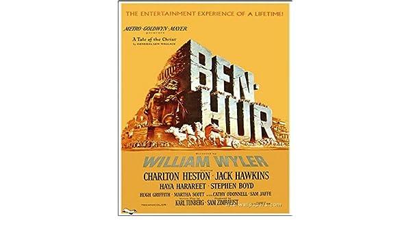 """Ben Hur MAGNET 2/"""" x 3/"""" Refrigerator Locker Heston Movie Poster"""