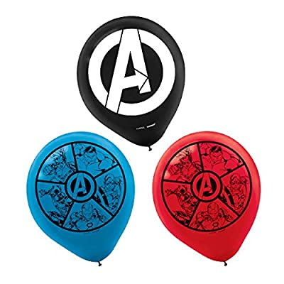 Marvel Avengers Powers Unite™ Printed 12-inch Latex Ballons - 6 pcs: Toys & Games