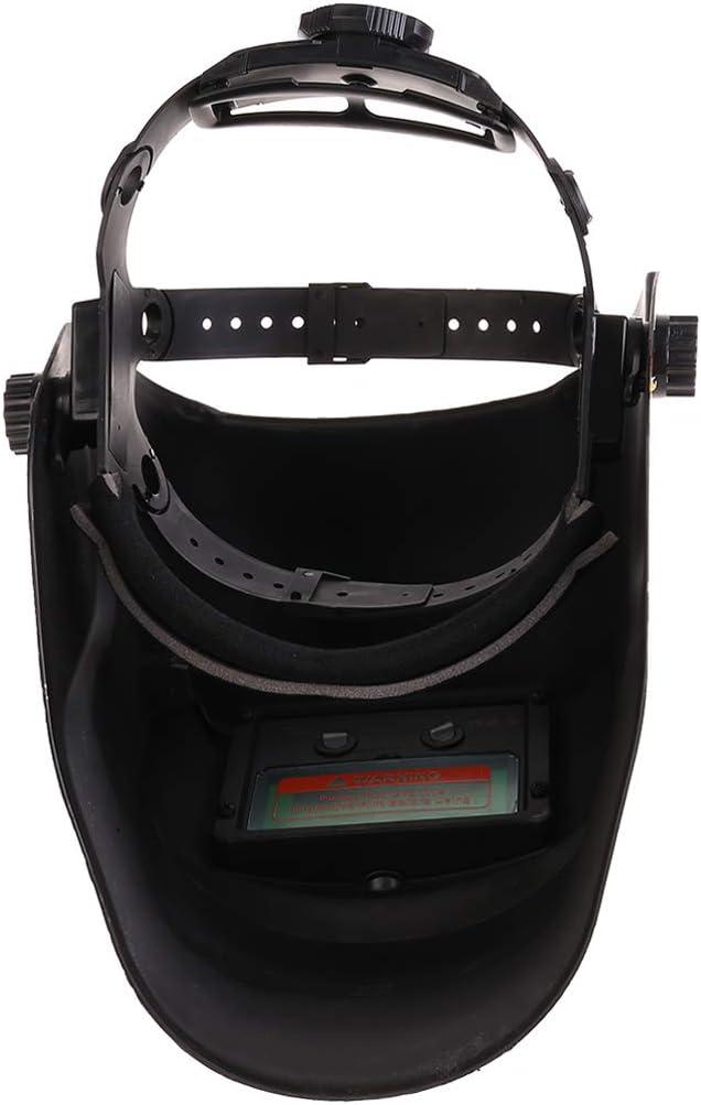 Angelliu Casco per Saldatura Cappuccio Oscurante Autoalimentato Solare,Cartone Animato Maschera di Sicurezza Saldatura Saldatore