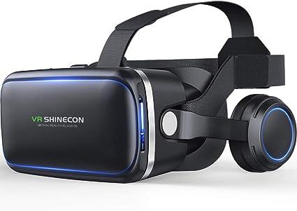 RONSHIN - Gafas de Realidad Virtual 3D VR panorámicas de 360° para ...