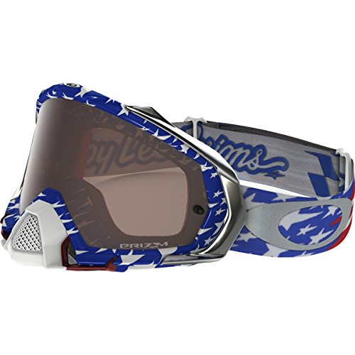 - Oakley Mayhem Pro MX TLD Collection Adult Off-Road Motorcycle Goggles Eyewear - Glory RWB/Prizm MX Black/One Size Fits All