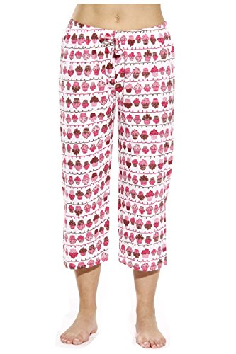 Just Love 6331-10043-XL Women Pajama Capri Pants/Sleepwear