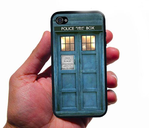 Doctor Who Tardis iPhone 4, 4S Silicone Case
