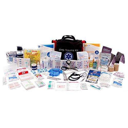 Deluxe Ems-Style Kit By Nutristore | First Aid Ems Kit Including First Responder Medical Supplies In A Large Emergency Trauma Medic Bag by Nutristore (Image #1)