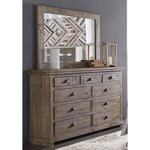 Progressive Furniture Willow Drawer Dresser, Weathered Gray (Willow Furniture)