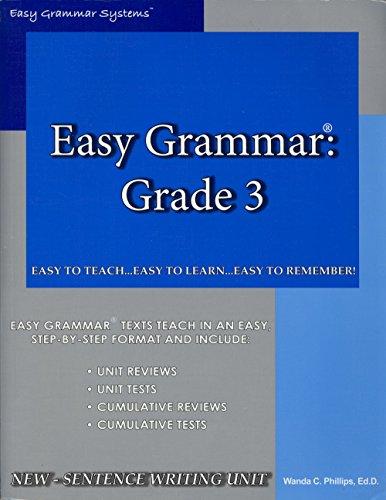 Easy Grammar 3 - Teacher Edition (General Grammar)