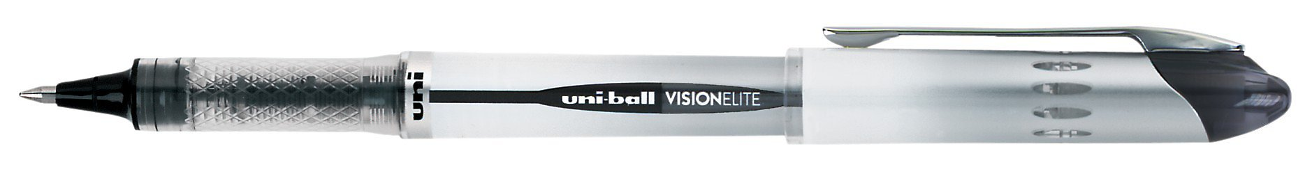 uni-ball Vision Elite Rollerball Pens, Bold Point (0.8mm), Black, 4 Count by Uni-ball (Image #4)