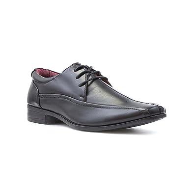 US Brass Zapato Negro Para los Hombres Por Talla 9 UK/43 EU - Negro iwQMfTVT5h