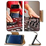 Liili Premium Samsung Galaxy S8 Plus Flip Pu Leather Wallet Case Dj mixer equipment to control sound and play music Photo 16697689 Simple Snap Carrying